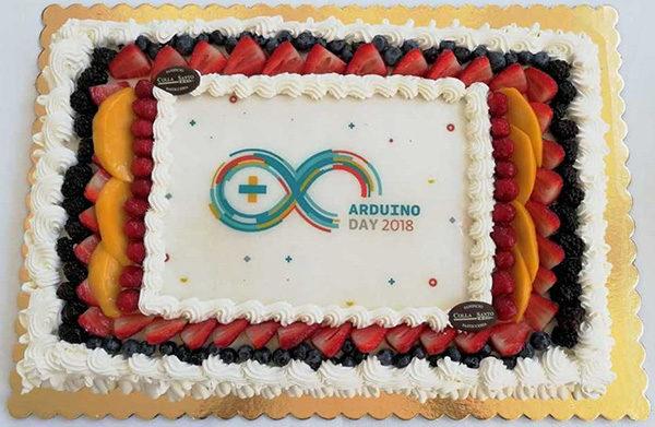 Arduino Day 2018 cake