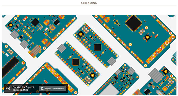 Arduino Day 2018 streaming