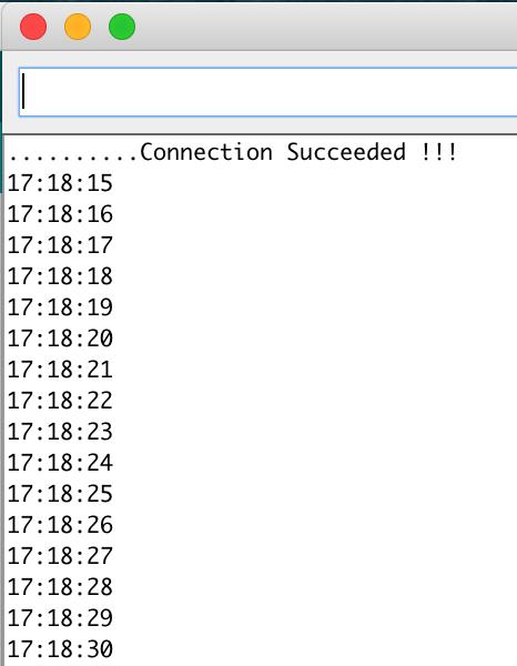FireBeetle ESP32 NTP client Serial
