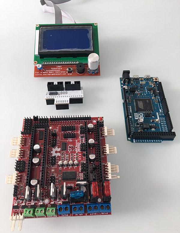 Ramps-FD Delta 3D printer components