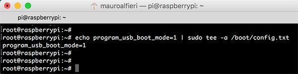 RPi USB Boot add program boot