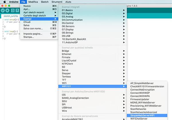 mkr1000 embedded html images example webserver