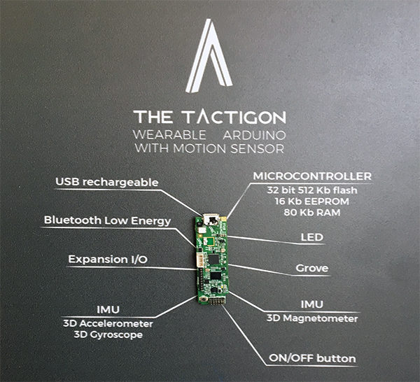 the tactigon maker board