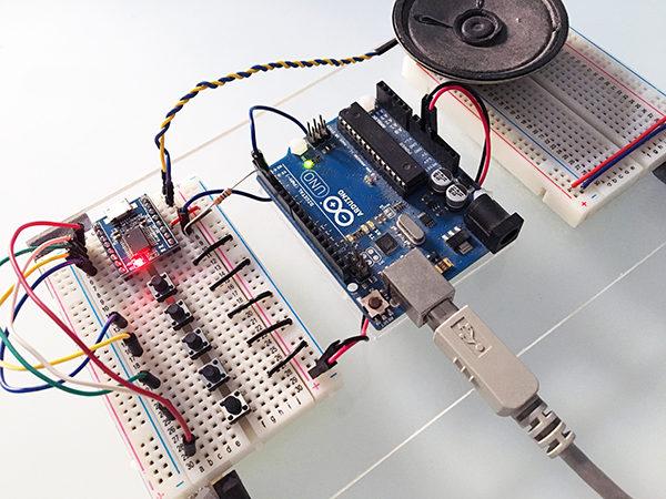 JQ6500 arduino control