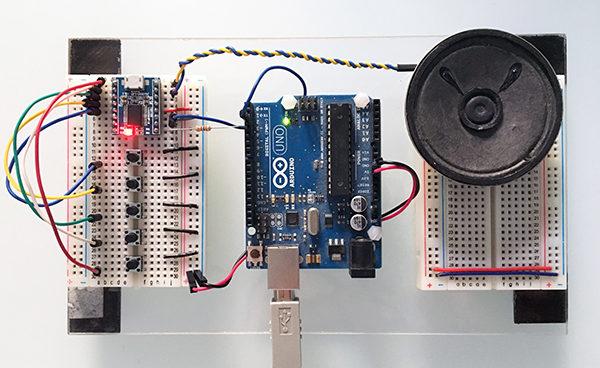 JQ6500 arduino top