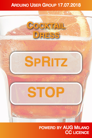 SpritzDress wearable HTML page