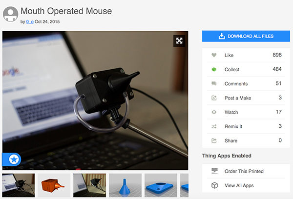 Mouth-Operated-Mouse