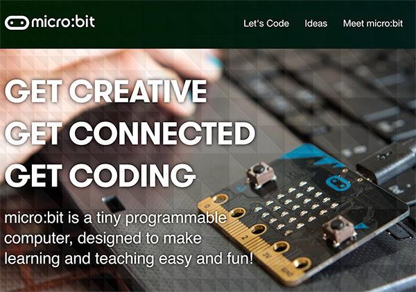 micro bit presentazione sito