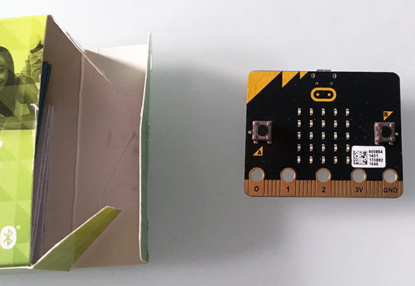 micro bit primo sketch unpackaging