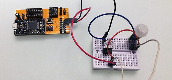 Attiny85 mini PIR sensor