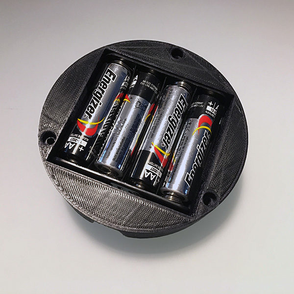 Halloween Pumpkin 3D battery holder