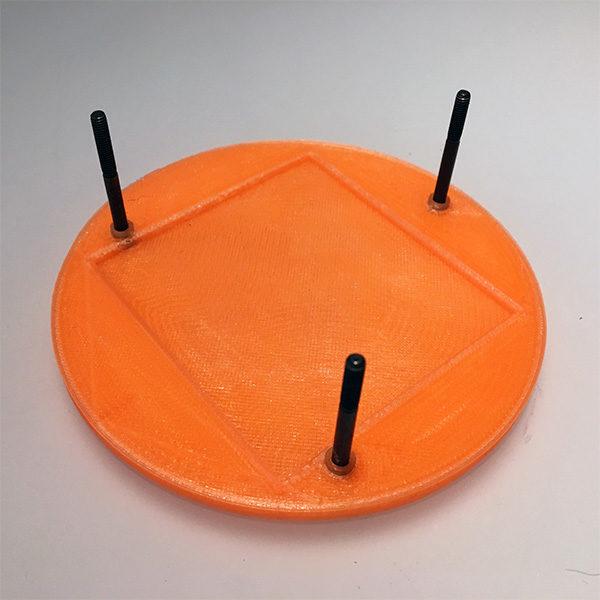 Halloween Pumpkin 3D mount I