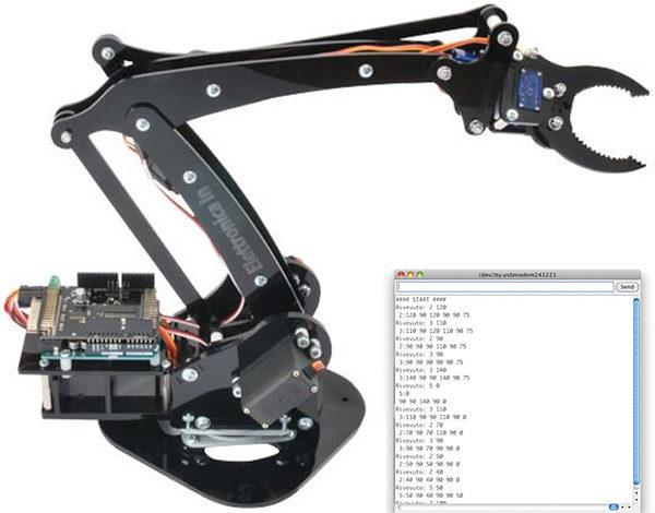 robotArm Serial Control