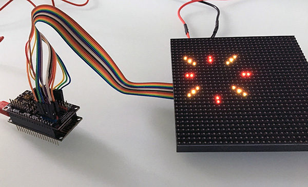 Fireworks 32x32 RGB LED Matrix DFRobot