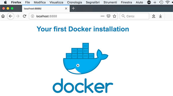 Docker Edit container html page