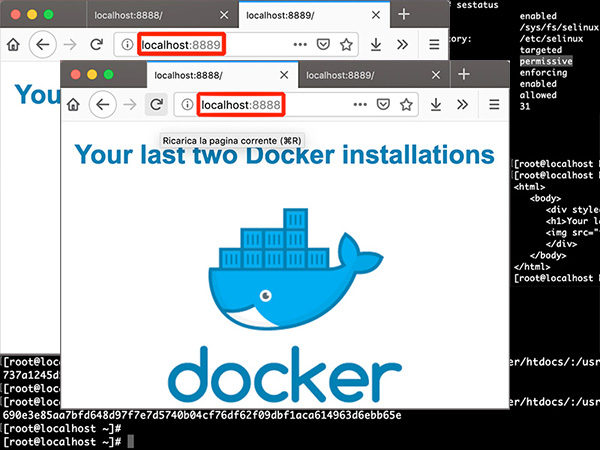 Docker-containers-share-dir