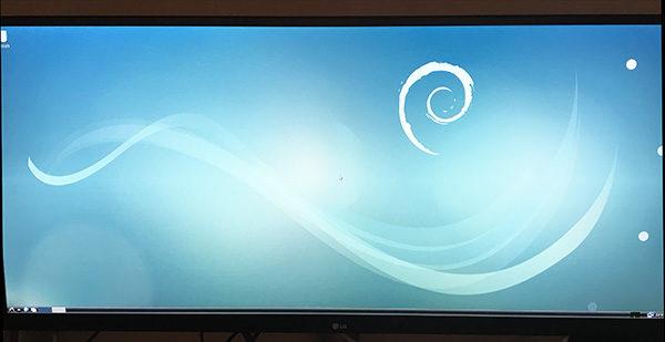RockPi4 install on eMMC first start desktop