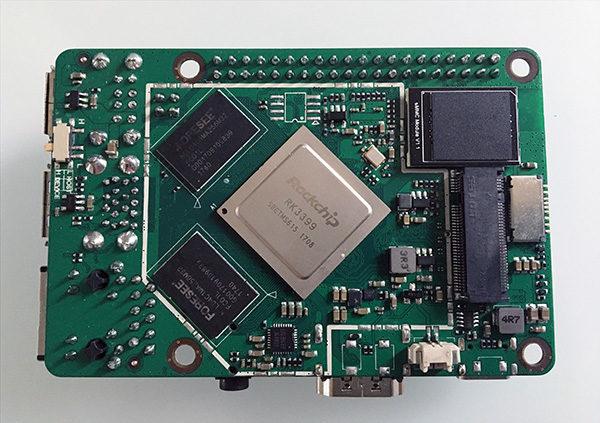 RockPi4 install on eMMC mounted on board