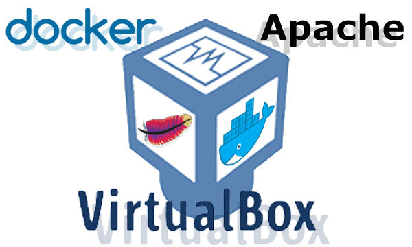 docker virtualbox apache