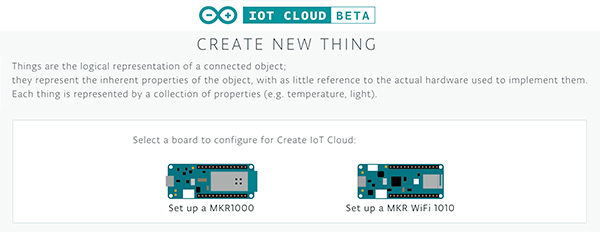 speciale AUG & Wearable 19.02.2019 IoT Cloud create a new things