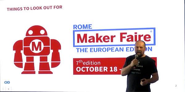 Arduino Day 2019 after maker faire banzi