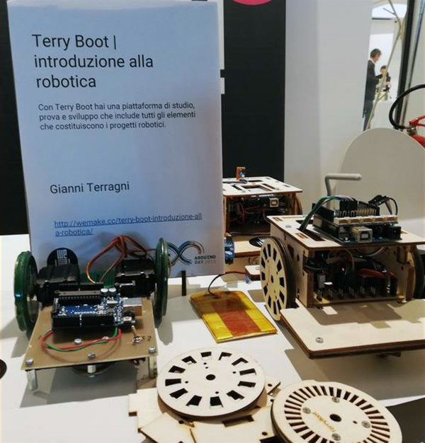 Arduino Day 2019 after terry bot