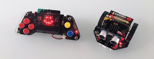 Maqueen-Robot-and-Joypad