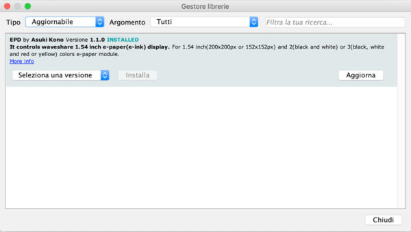 EPD library MKR1010 Wifi update from IDE