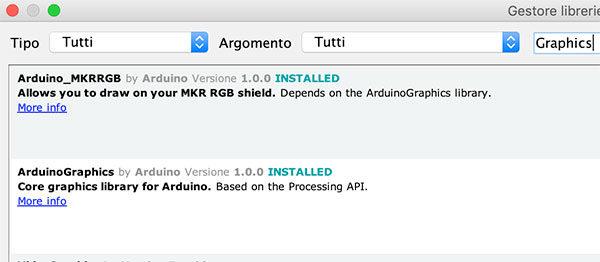 MKR RGB shields library