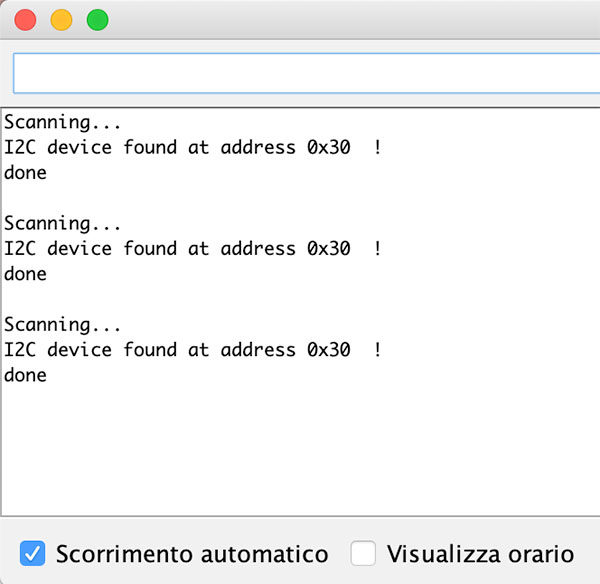 wemos motor shield firmware update device i2c scanned
