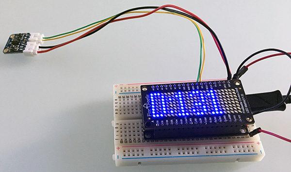 ESP32 Matrix VL6180