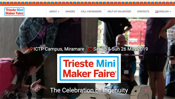 Trieste Mini Maker Faire 2019