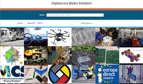 Trieste Mini Maker Faire 2019 espositori