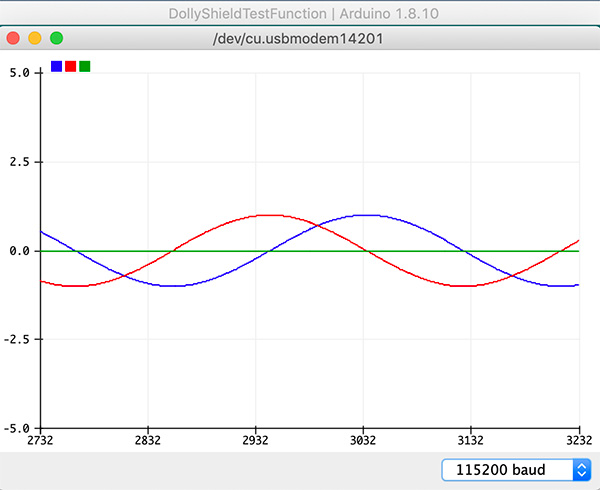 plotter seriale arduino ide 1.8.10