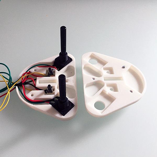 robot arm controller base montaggio