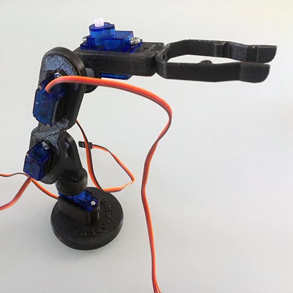 Robot arm montaggio