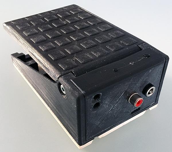 pedale 3D arduino schema