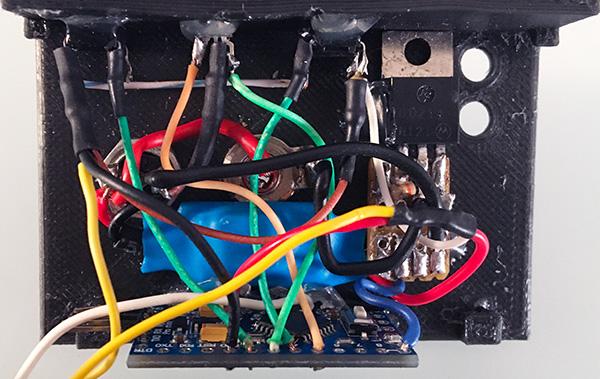 pedale 3D arduino collegamenti