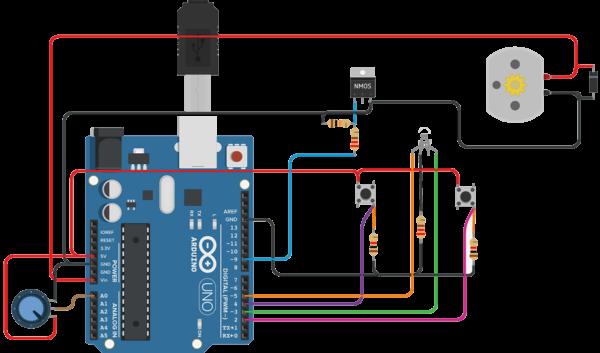 schema pedale 3d arduino