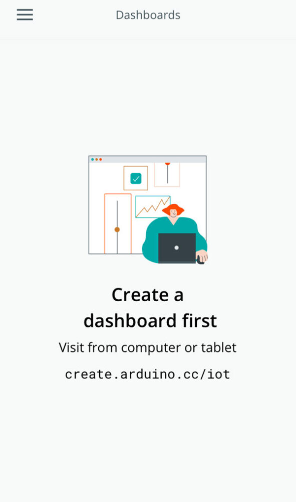 arduino iot remote app test dashboard