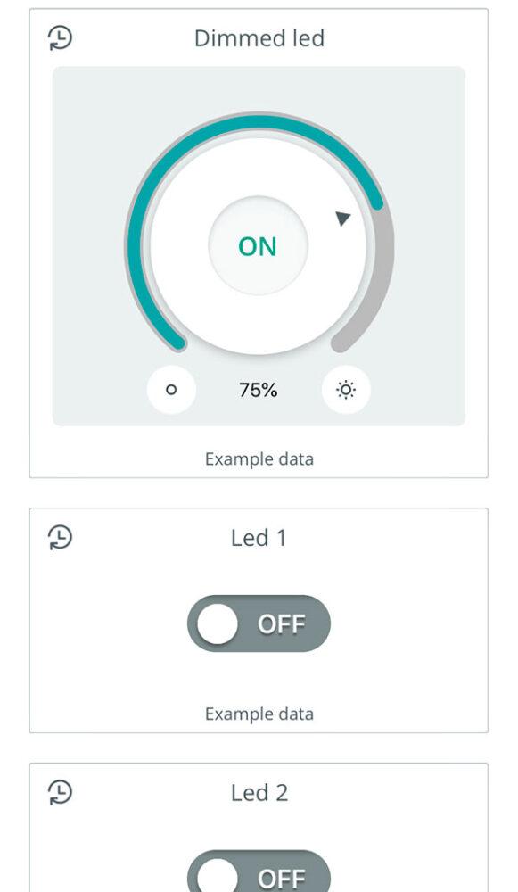 dashboard arduino app