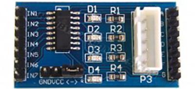 ULN2003 driver blue