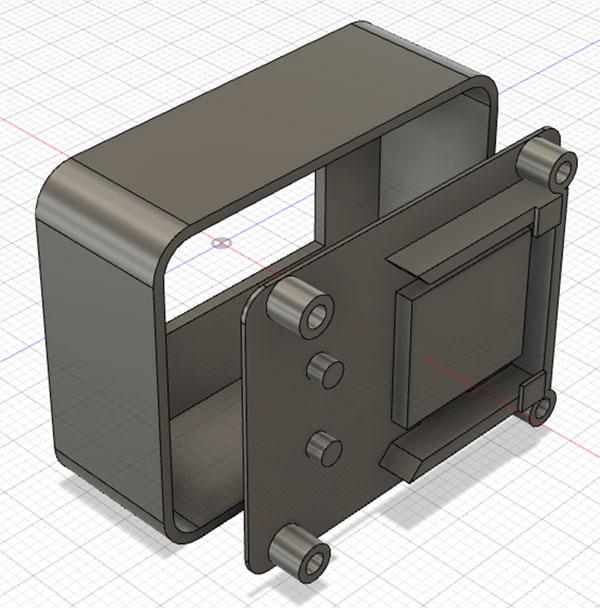 CtrlJ pen case assembled