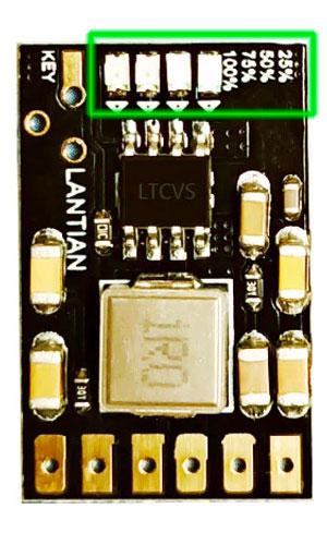 BS301CV small powerbank led indicator