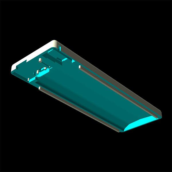power bank 4000 3d model case top