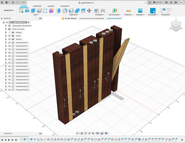 appendiabili DIY fusion360