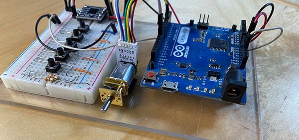 micro gear motor con encoder